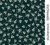 seamless floral pattern.    Shutterstock .eps vector #589996253