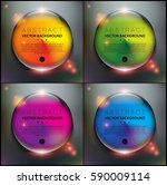 abstract backgrounds set of 4....