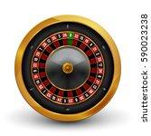 realistic casino gambling... | Shutterstock .eps vector #590023238