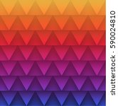 abstract triangles pattern...   Shutterstock .eps vector #590024810