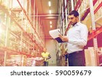 wholesale  logistic  people and ... | Shutterstock . vector #590059679