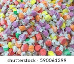 colorful candies texture... | Shutterstock . vector #590061299