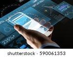 business  statistics  people... | Shutterstock . vector #590061353