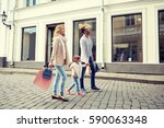 sale  consumerism and people... | Shutterstock . vector #590063348