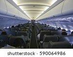 Airplane Passenger Cabin