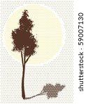 tree | Shutterstock .eps vector #59007130