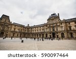 The Louvre In Paris  The...