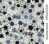 seamless pattern. multi colored ... | Shutterstock .eps vector #590101334