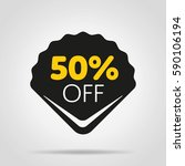 special offer sale tag isolated ... | Shutterstock .eps vector #590106194