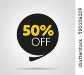 special offer sale tag isolated ... | Shutterstock .eps vector #590106209