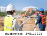Construction Engineer Hodling...