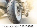 motorcycle tyre big bike  ...   Shutterstock . vector #590133989