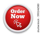 order now button | Shutterstock .eps vector #590146580