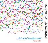 glitter sparkle endless... | Shutterstock .eps vector #590160890
