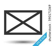 envelope icon. envelope simple... | Shutterstock .eps vector #590171369