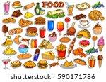 vector illustration of sticker...