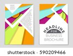 abstract vector layout... | Shutterstock .eps vector #590209466