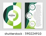 abstract vector layout...   Shutterstock .eps vector #590224910