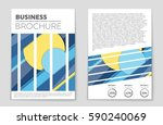 abstract vector layout... | Shutterstock .eps vector #590240069