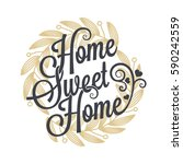 Home Sweet Home Vintage...