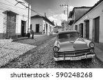 trinidad  cuba   january 29...   Shutterstock . vector #590248268