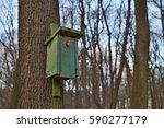 Green Bird Booth  Bird House ...