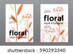 template corporate cover swiss... | Shutterstock .eps vector #590293340