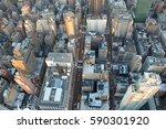panoramic view of new york city | Shutterstock . vector #590301920