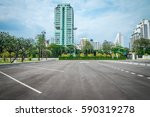 empty space in city park... | Shutterstock . vector #590319278
