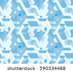 abstract geometric triangle...   Shutterstock .eps vector #590334488
