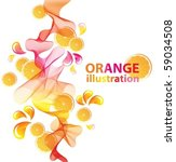 abstract vector background with ... | Shutterstock .eps vector #59034508
