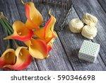 Orange Yellow Calla Lilies...