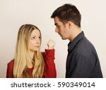 scary threat | Shutterstock . vector #590349014