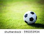 football on field. | Shutterstock . vector #590353934