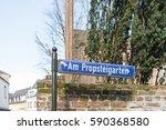 kempen  germany   february 24 ... | Shutterstock . vector #590368580