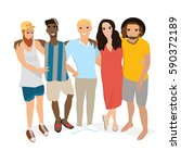 people vector. people... | Shutterstock .eps vector #590372189