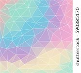 background of geometric shapes. ... | Shutterstock .eps vector #590385170