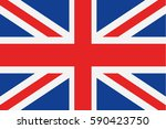uk flag vector | Shutterstock .eps vector #590423750