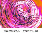 abstract black hole | Shutterstock . vector #590424353