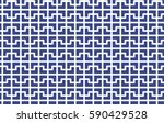abstract cross mosaic pattern