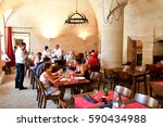 chantilly  france   august 14... | Shutterstock . vector #590434988
