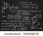 vintage educational and... | Shutterstock .eps vector #590438078