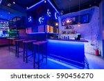 interior of a night club | Shutterstock . vector #590456270