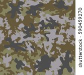camouflage pattern background... | Shutterstock .eps vector #590459270