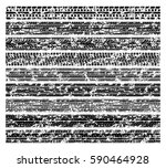 dirty grunge tire tracks  mud... | Shutterstock .eps vector #590464928