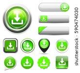 download button | Shutterstock .eps vector #590474030