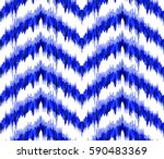 seamless pattern in ethnic... | Shutterstock .eps vector #590483369