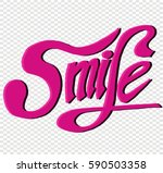 smile  quotes  sketch   Shutterstock .eps vector #590503358