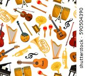 Musical Instruments Vector...
