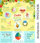 Easter Infographic Template...